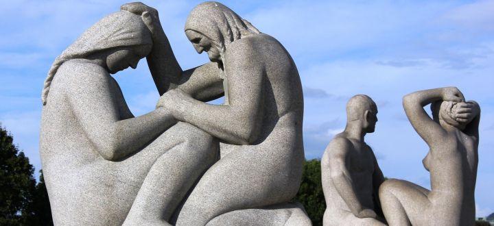 -Oslo Steinfiguren Vigeland