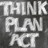 Die politische Zukunft-Think, plan, act