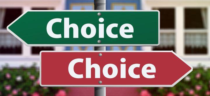 -Du hast die Wahl