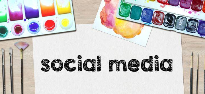 -Social Media und Farben