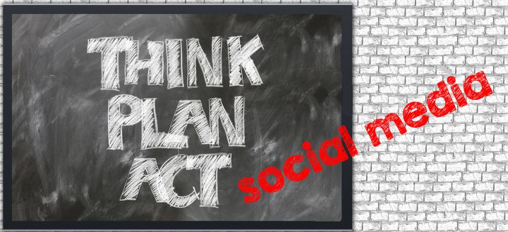 -Think, Plan, Act, social media