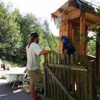 Besuch am Hendlberghof-Volkmar und Robert im Gespräch über das Kompostieren